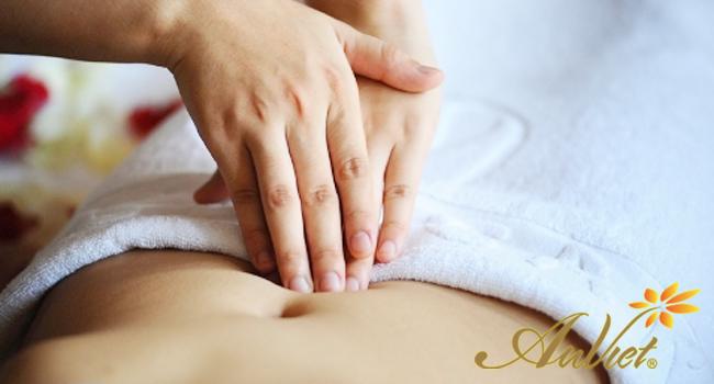 Massage bấm huyệt giảm cân