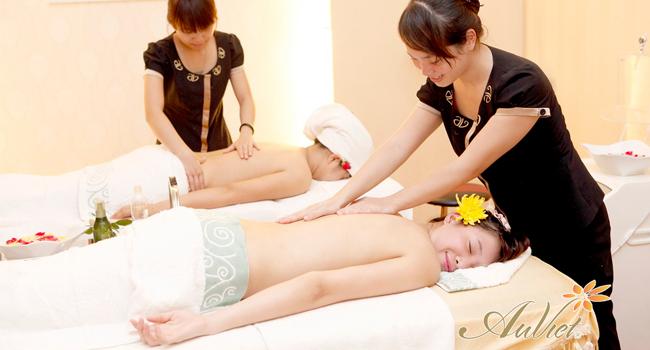 Massage bằng tinh dầu Argan