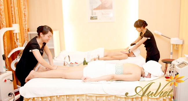 Quy trình massage body bằng tinh dầu