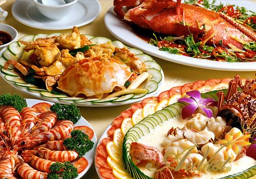 Thực phẩm gây sẹo - Hải sản, đồ tanh